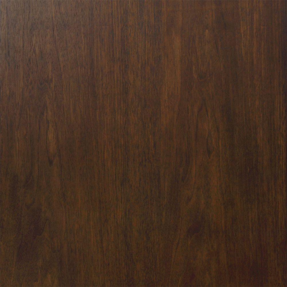 Kelman 4 in. x 4 in. Vanity Finish Sample in Dark Walnut