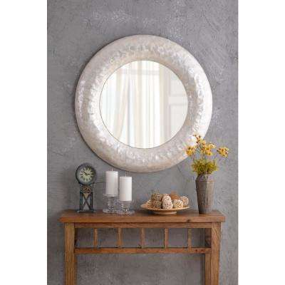 Coquille Pearl Wall Mirror