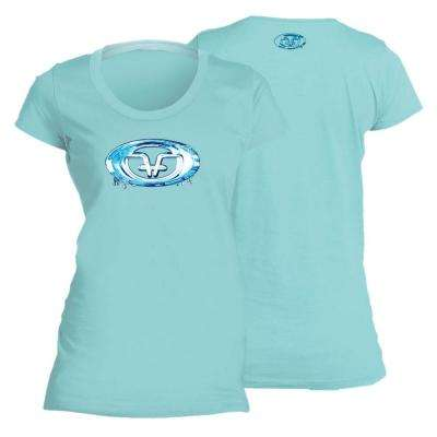 Water Logo Medium Ladies Tee Chill