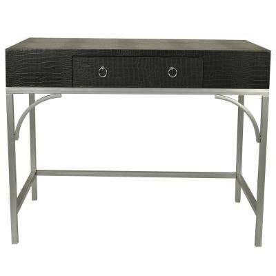 Dundee Black Writing Console Desk