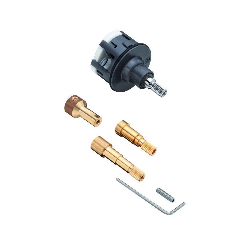 Quattro 3-Way Diverter Cartridge, Black