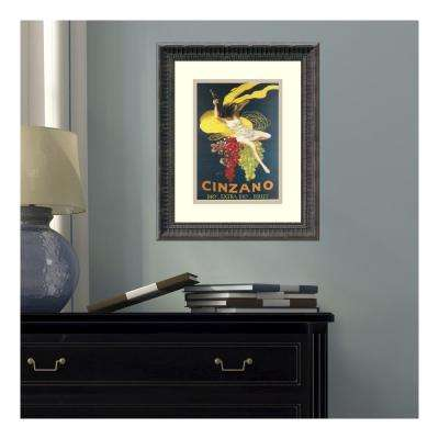 14 in. W x 17 in. H 'Cinzano, 1920' by Leonetto Cappiello Printed Framed Wall Art