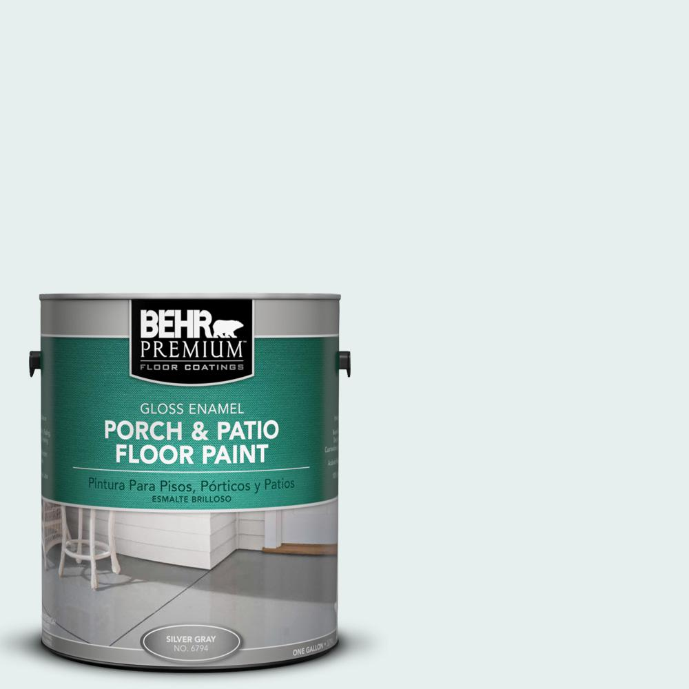730e 1 Polar White Gloss Interior Exterior Porch And Patio Floor Paint