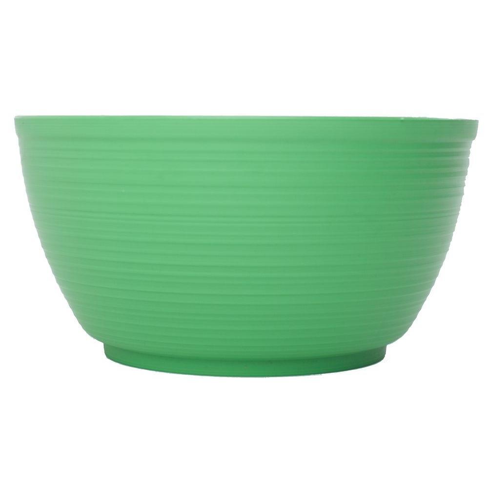 Bloem 15 in. Gre-Fresh Dura Cotta Plastic Plant Bowl