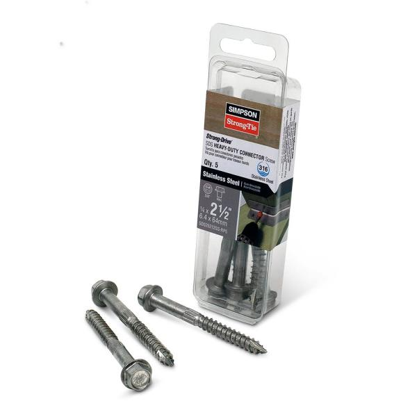 Series 6 Black 7//8 Penetration 100 Count New Screws Easy and safe penetration