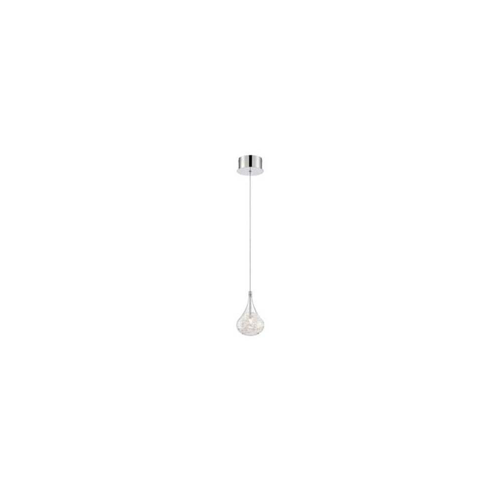 1-Light Polished Chrome Pendant