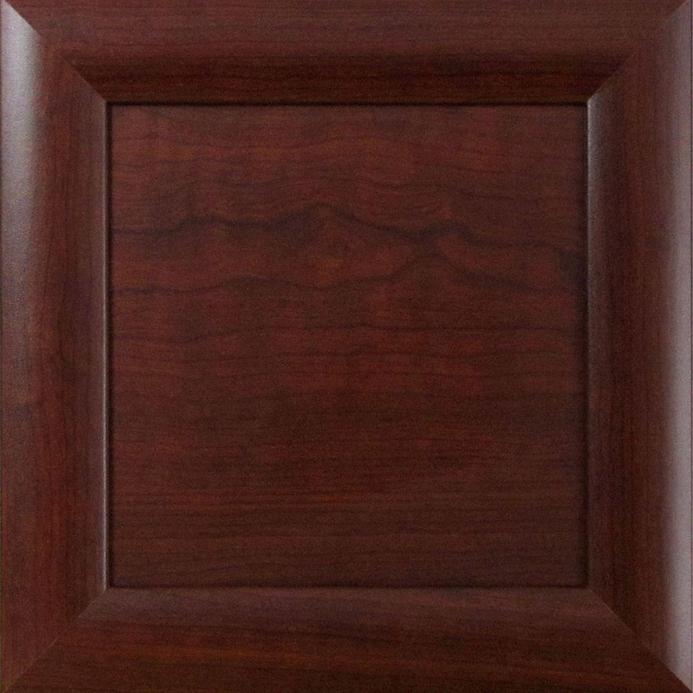 12.75x12.75x.75 in. Dolomiti Ready to Assemble Cabinet Door Sample in Cherry