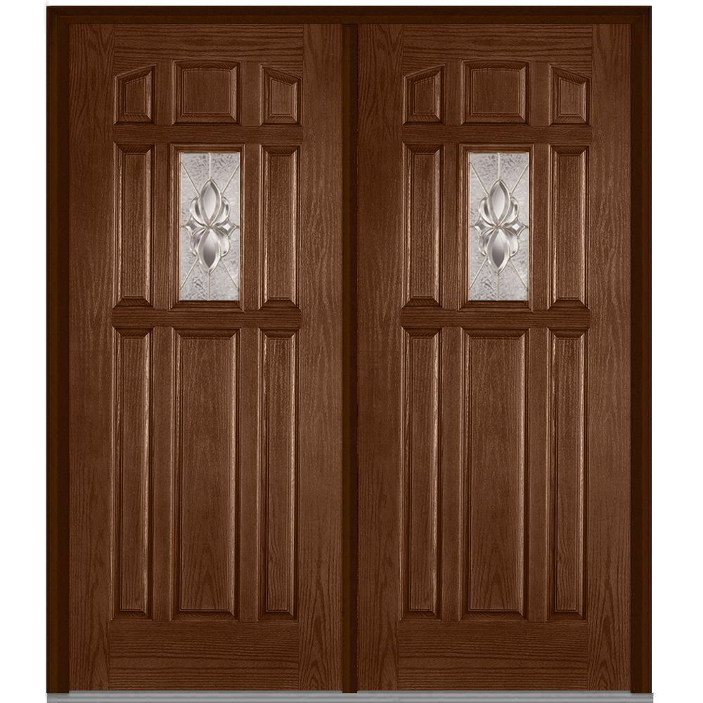 Mmi door 72 in x 80 in heirloom master left hand inswing for 8 lite exterior door