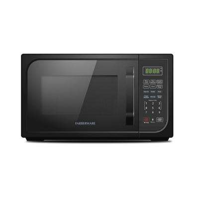 Classic 0.9 cu. Ft. Countertop Microwave in Black Matte