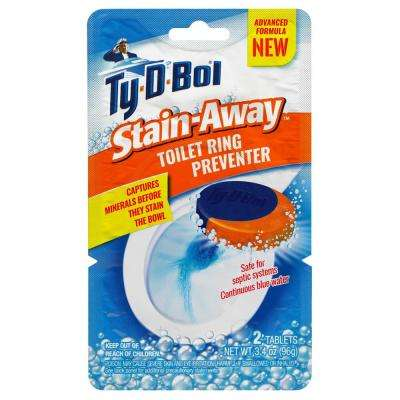 3.4 oz. Stain Away Toilet Ring Preventer Cleaning Tablets (6-Pack)