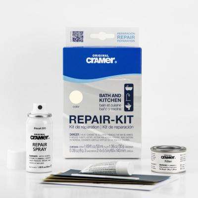 Bath and Kitchen Finish Repair Kit in Biscuit