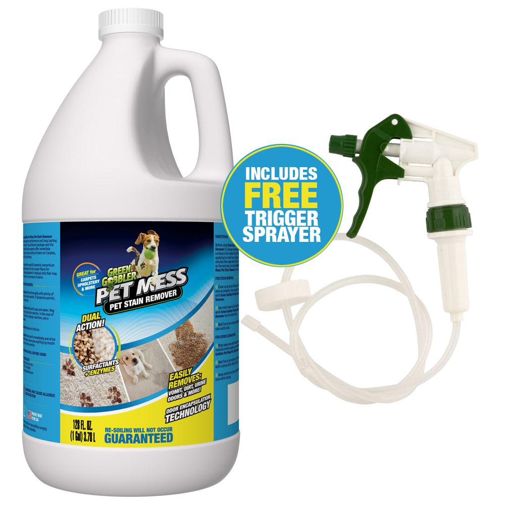Best Sofa Stain Remover: Green Gobbler Pet Mess 1 Gal. Pet Stain Remover And