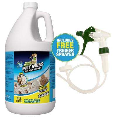 Pet Mess 1 Gal. Pet Stain Remover and Upholstery Cleaner