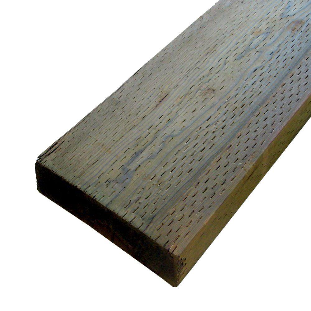 2 in. x 12 in. x 8 ft. Pressure-Treated Lumber