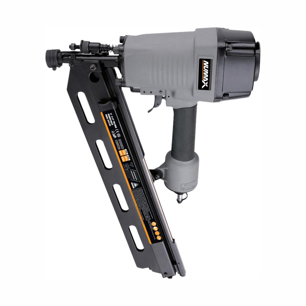 NuMax Pneumatic 21-Degree 3-1/2 in. Full Round Head Framing Nailer