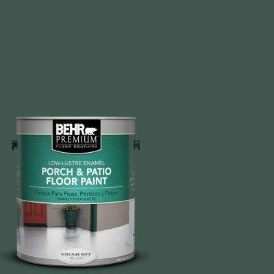 1 gal. #S420-7 Secluded Woods Low-Lustre Interior/Exterior Porch and Patio Floor Paint
