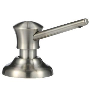 Classic Deck-Mount Metal Soap Dispenser in Stainless