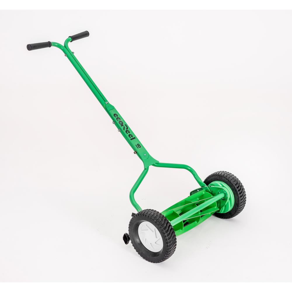 EcoReel 18 inch Manual Walk Behind Push Reel Mower by EcoReel
