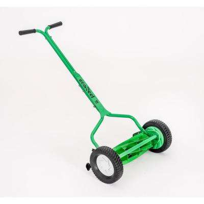 18 in. Manual Walk Behind Push Reel Mower