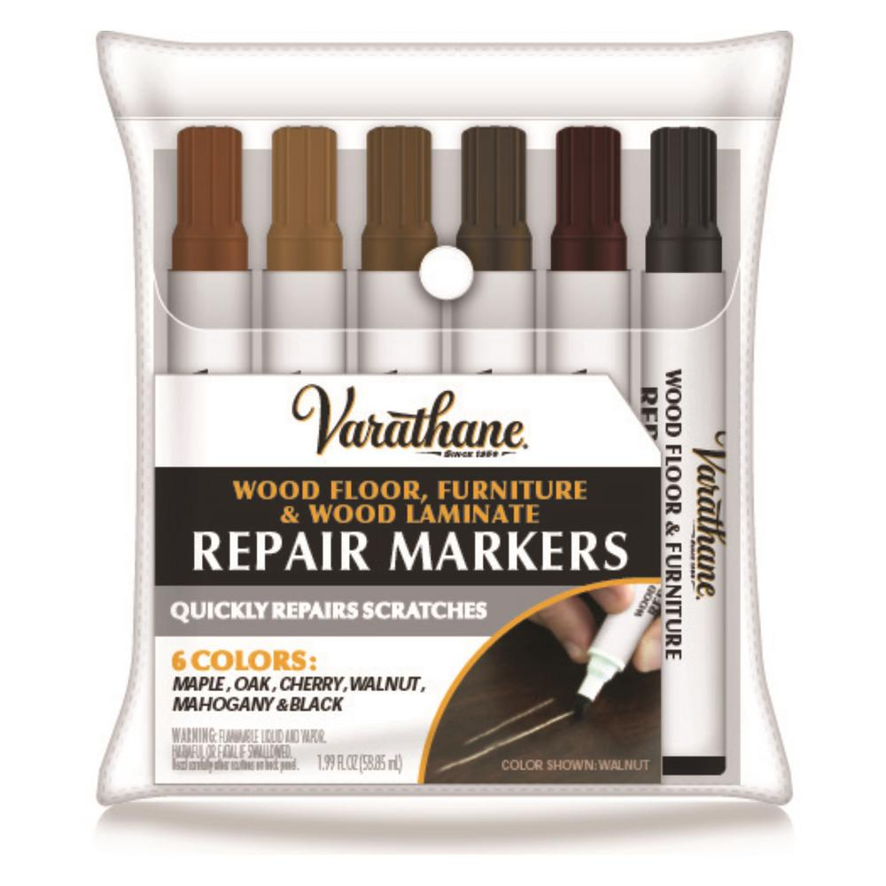 Wood Stain Touch Up Marker Kit