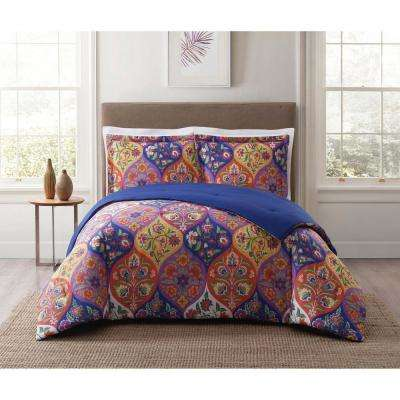 Paloma Ogee Orange King Comforter Set