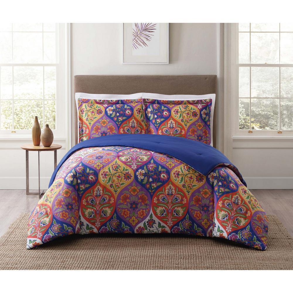 Paloma Ogee Orange Twin XL Comforter Set
