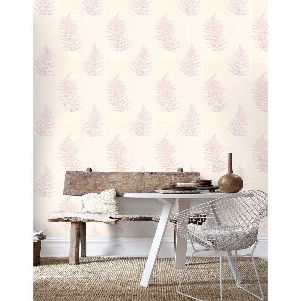 Verdant Pink Removable Wallpaper Sample