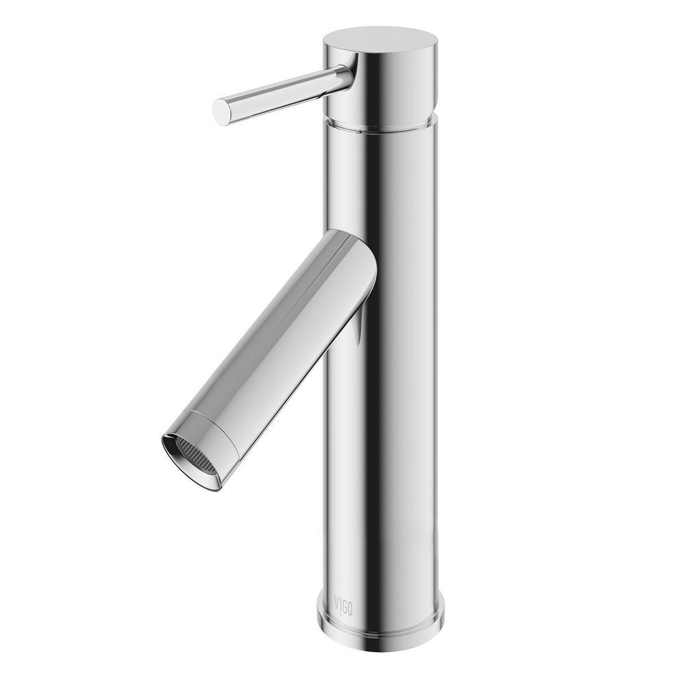 Ordinaire VIGO Single Hole Single Handle Bathroom Faucet In Chrome