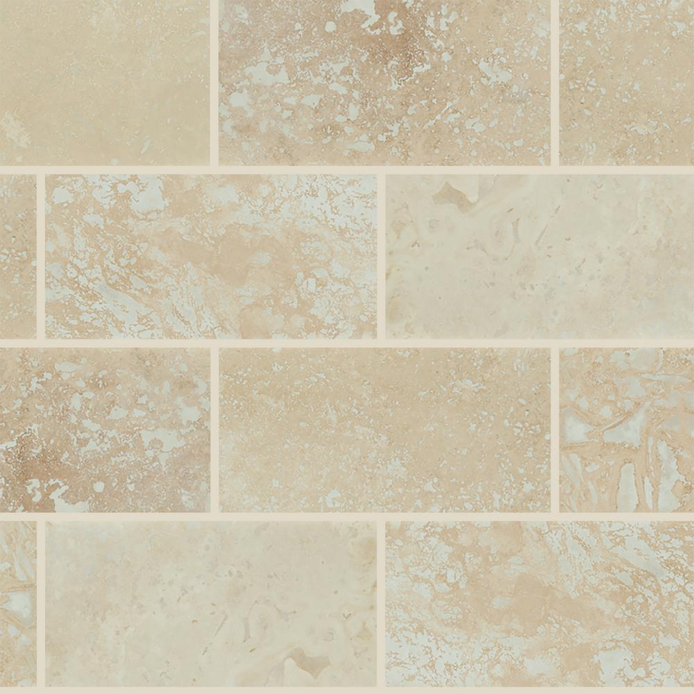 Honed Travertine Floor And Wall Tile