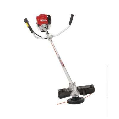 35 cc Straight Shaft Gas Trimmer with Bike Handle Grip