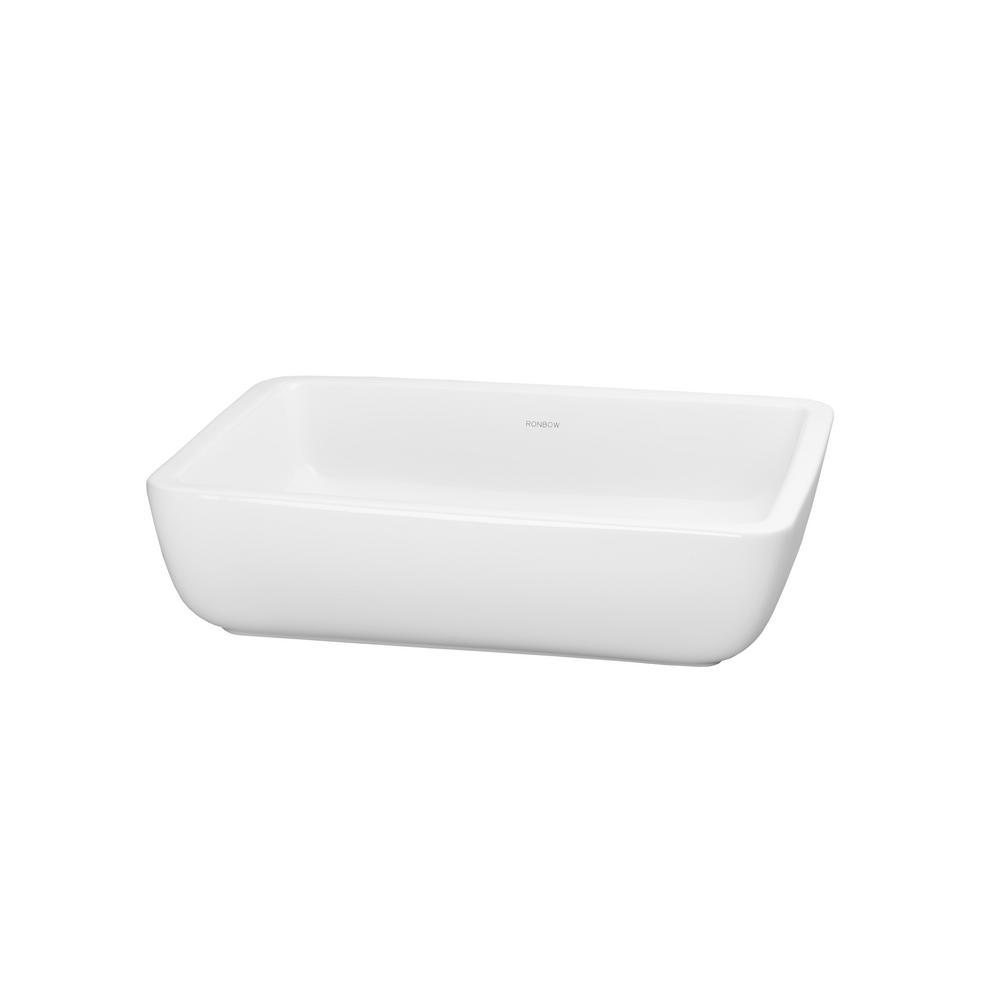 Mod Vessel Sink in White