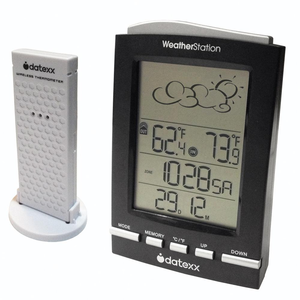 Datexx 5 symbol weather forecast station with wireless - Exterior painting temperature minimum ...