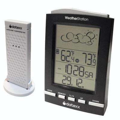 5-Symbol Weather Forecast Station with Wireless Indoor/Outdoor Sensor