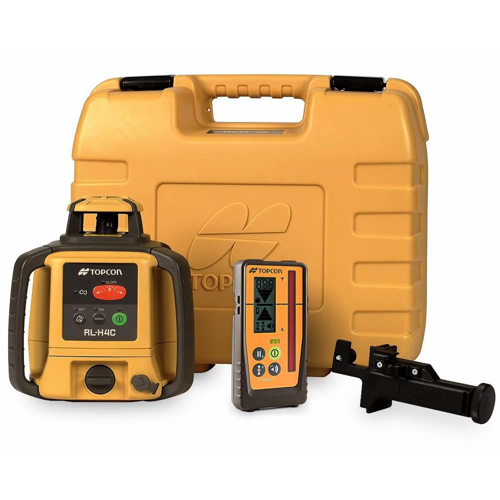 TOPCON RL-H4C Red Beam Rotary Rechargeable Laser Level