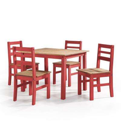 Red - Wood - Dining Room Sets - Kitchen & Dining Room Furniture ...