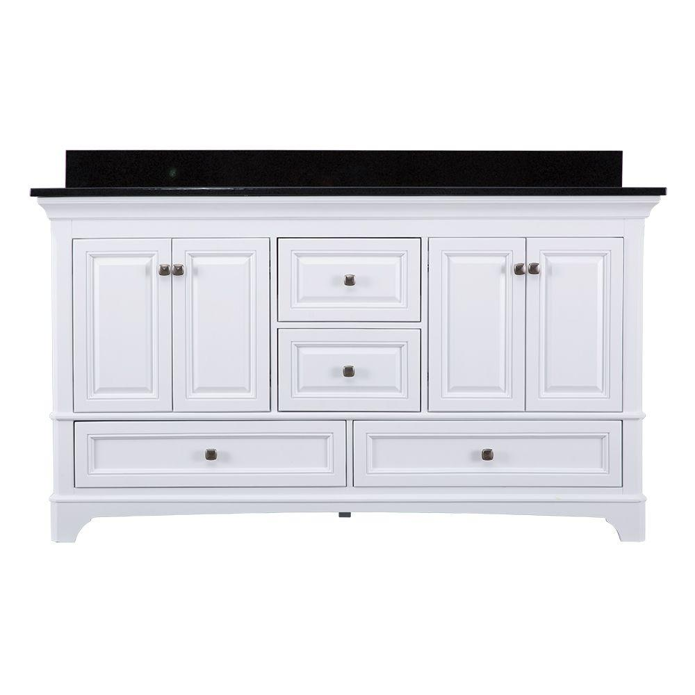 Home Decorators Collection Moorpark 61 In. W X 22 In. D Double Bath Vanity