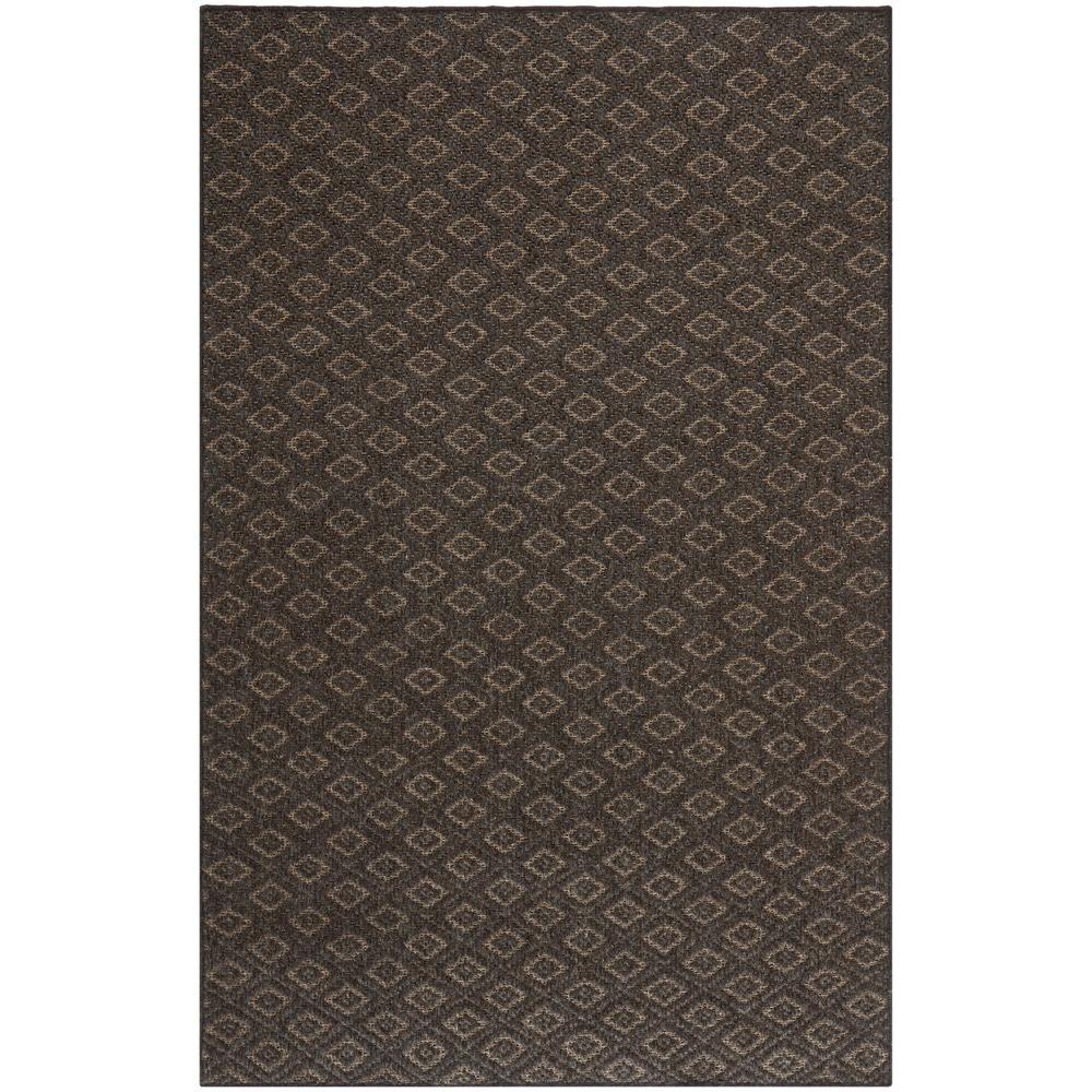 Diamond Brown 8 ft. x 11 ft. Area Rug