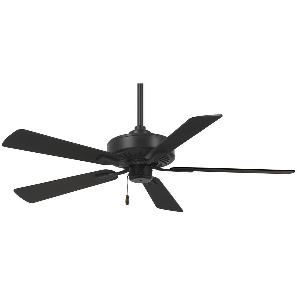 Contractor Plus 52 in. Indoor Coal Ceiling Fan