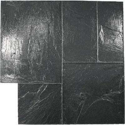 Majetic Ashlar - Black Concrete Stamp