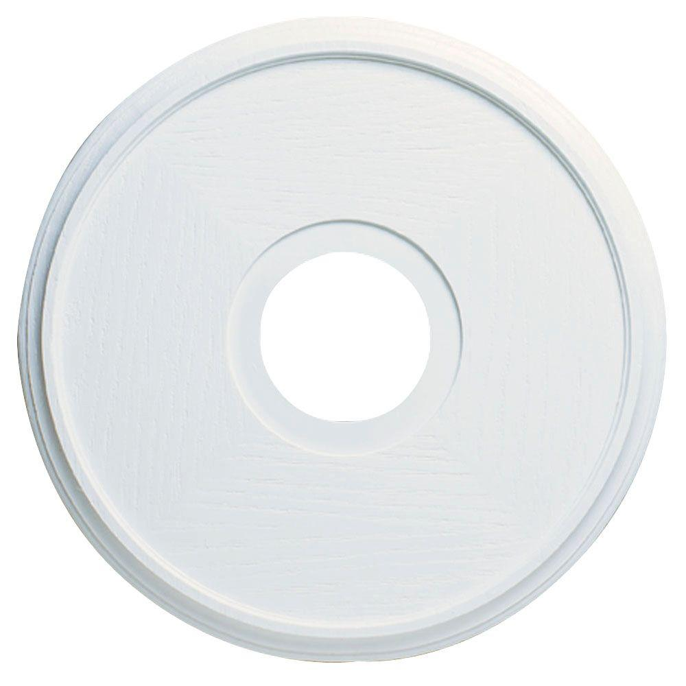 Westinghouse 16 in. Textured White Finish Ceiling Medallion