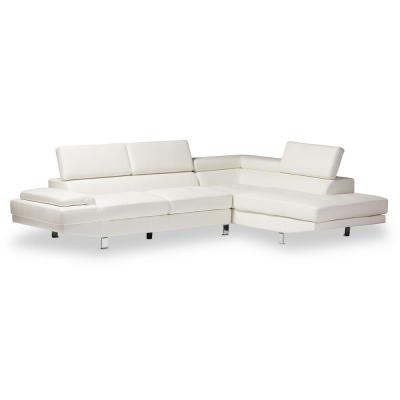 Incredible White Sectionals Living Room Furniture The Home Depot Camellatalisay Diy Chair Ideas Camellatalisaycom