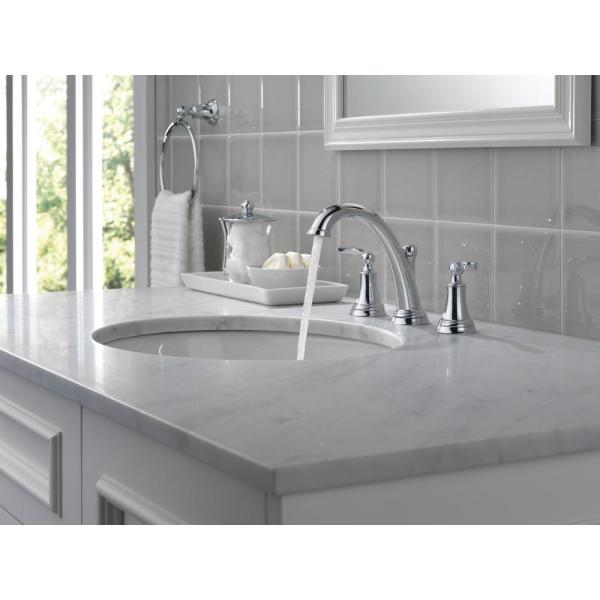 amazing marble countertop sink design and modern faucet.htm delta woodhurst 8 in widespread 2 handle bathroom faucet in  widespread 2 handle bathroom faucet