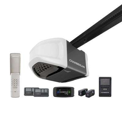 1 HPS Belt Drive Garage Door Opener with MyQ Technology and Free Gateway