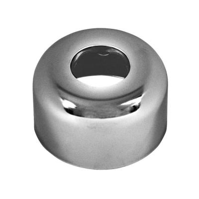 1-1/4 in. Box Flange Escutcheon Plate in Chrome-Plated Steel