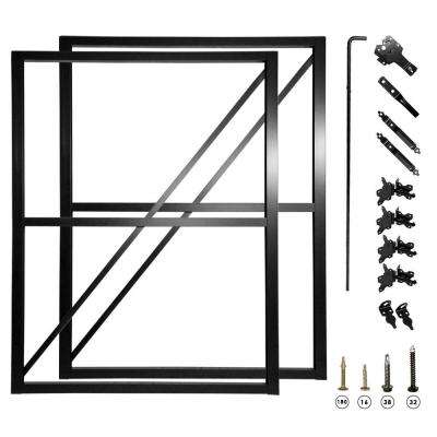 10 ft. Double Fence Gate Frame Kit