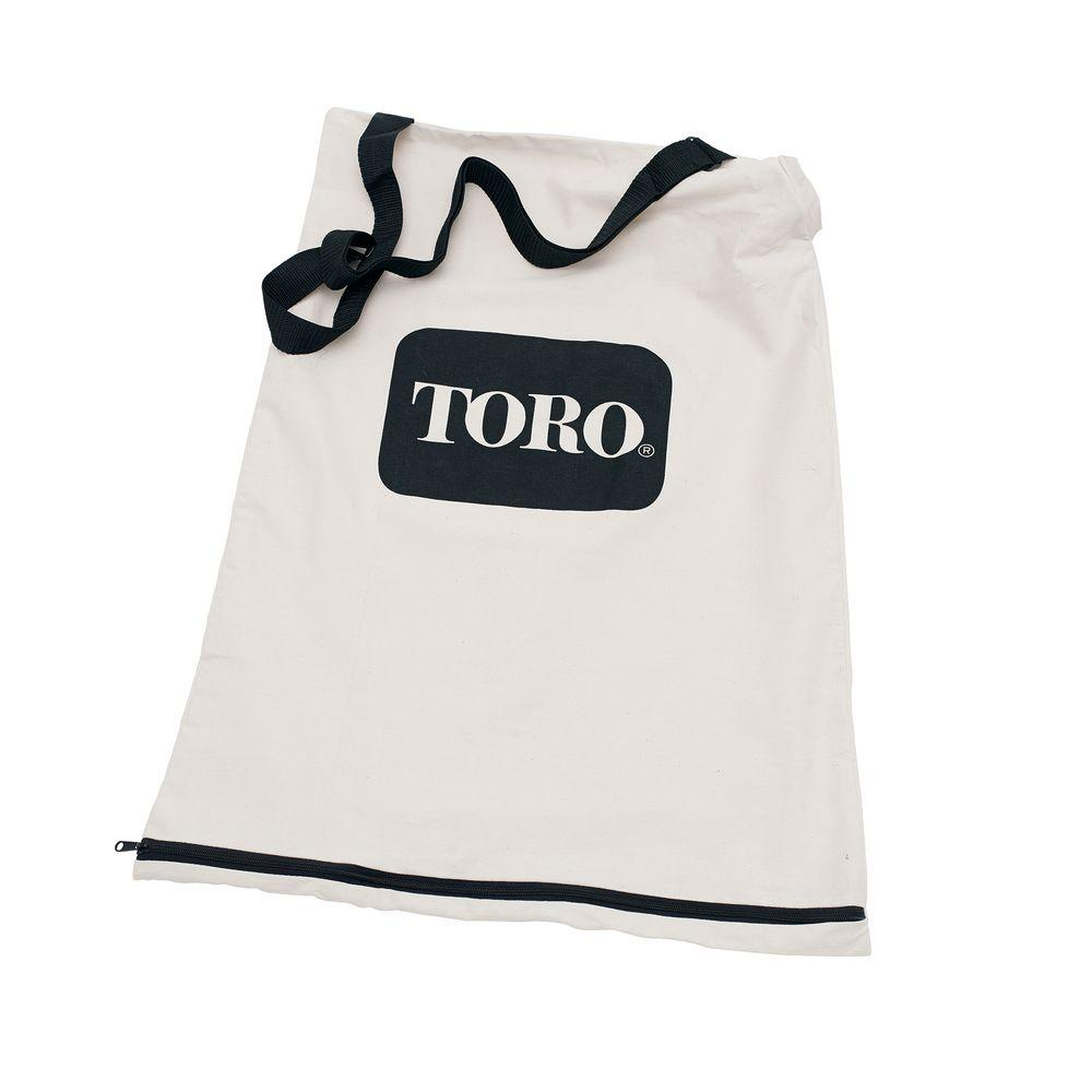Toro Bottom Zip Replacement Bag 51503 The Home Depot