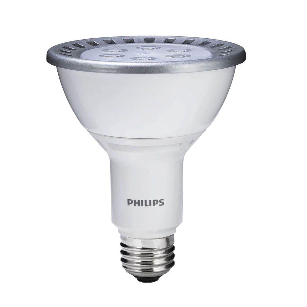 Philips 75W Equivalent Cool White (4000K) PAR30L Dimmable LED Flood Light Bulb (6-Pack)