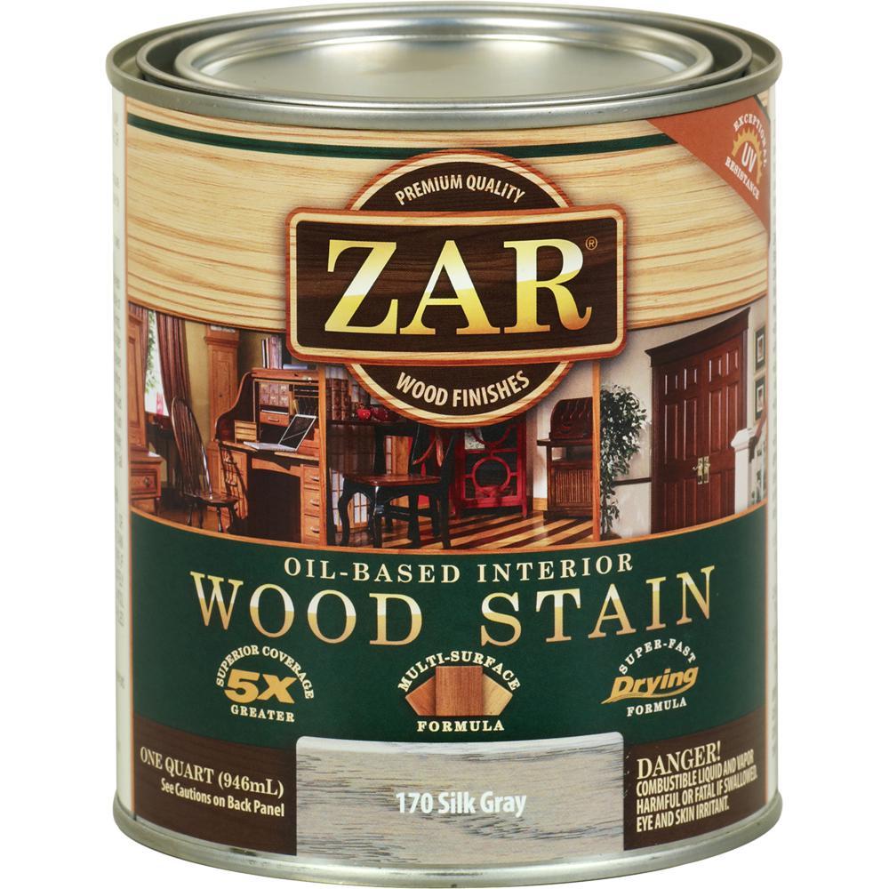 ZAR 170 Qt Silk Gray Wood Stain
