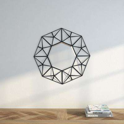 Firestone 26.25 in. H x 26.25 in. W Geometric Mirror