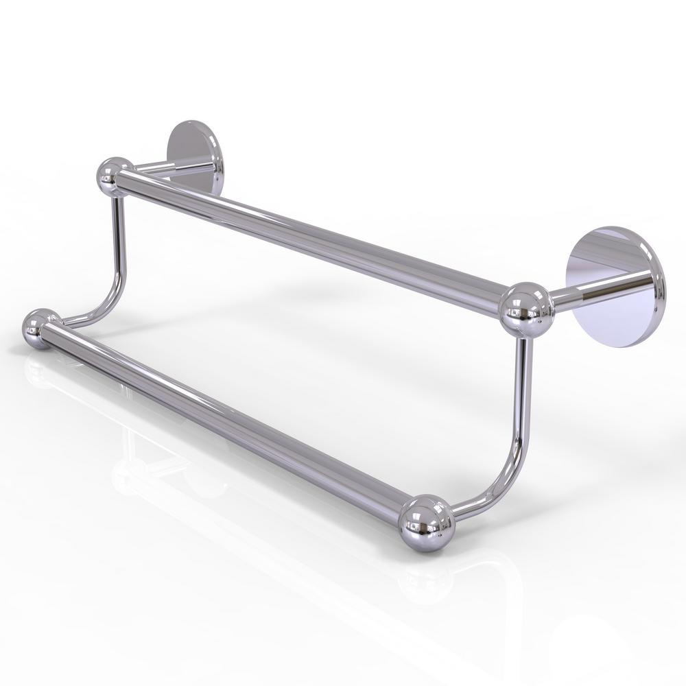 Prestige Skyline Collection 24 in. Double Towel Bar in Polished Chrome